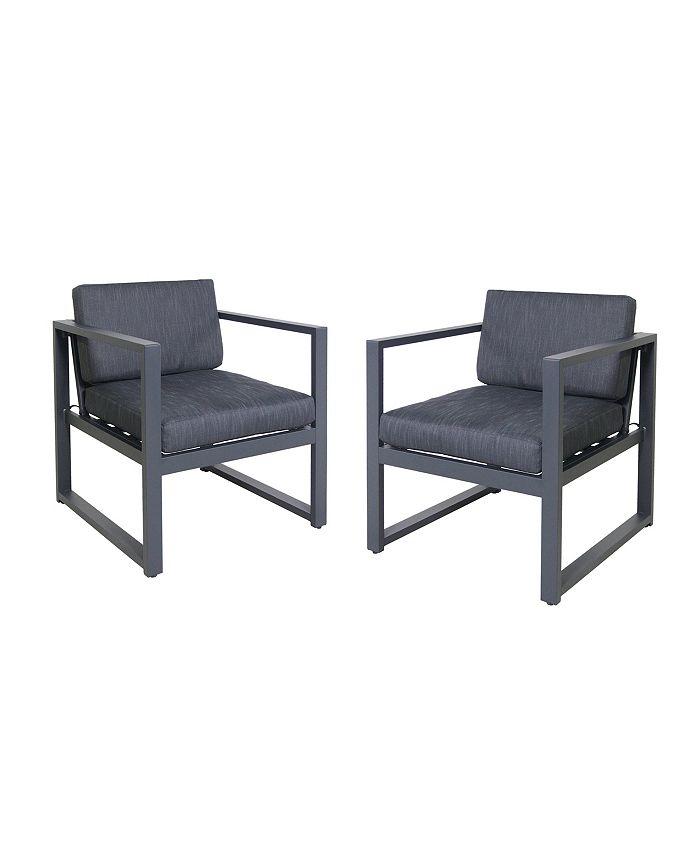 Noble House - Navan Outdoor Club Chair, Quick Ship