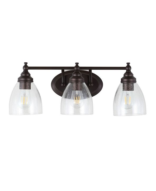 "JONATHAN Y Marais 22.5"" 3-Light LED Wall Sconce"