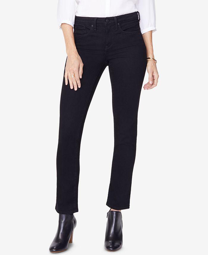 NYDJ - Sheri Straight-Leg Jeans