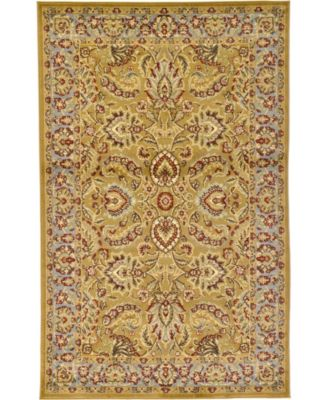 Passage Psg9 Dark Yellow 5' x 8' Area Rug