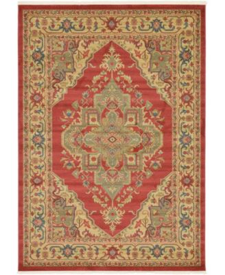 Harik Har9 Red 7' x 10' Area Rug