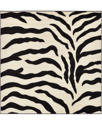 Maasai Mss3 Ivory 6' x 6' Square Area Rug