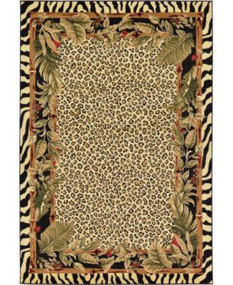Maasai Mss1 Ivory 6' x 9' Area Rug