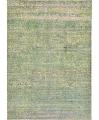 Malin Mal8 Green 6' x 9' Area Rug