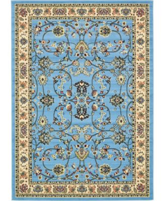 Arnav Arn1 Light Blue 7' x 10' Area Rug