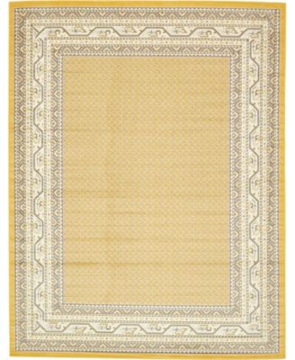 Axbridge Axb1 Yellow 10' x 13' Area Rug
