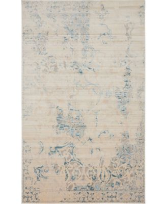 Caan Can1 Beige 5' x 8' Area Rug