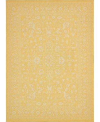 """Pashio Pas6 Yellow 8' x 11' 4"""" Area Rug"""