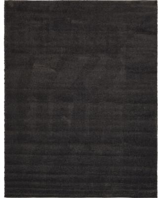 Uno Uno1 Charcoal 10' x 13' Area Rug