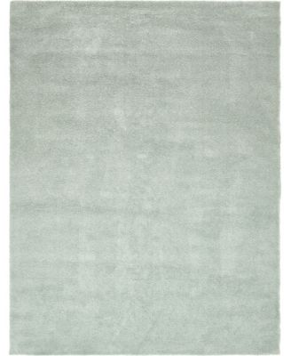 Uno Uno1 Light Blue 10' x 13' Area Rug