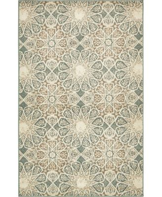 Tabert Tab3 Multi 5' x 8' Area Rug