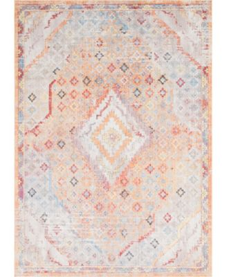Zilla Zil1 Orange 10' x 14' Area Rug