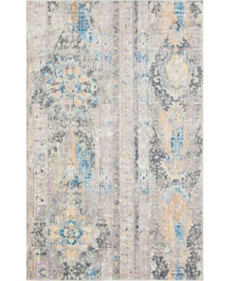 Nira Nir1 Light Brown 5' x 8' Area Rug