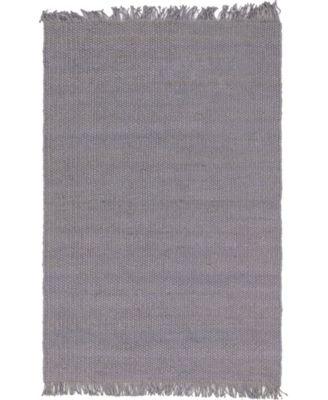 Stout Jute Stj1 Gray 6' x 9' Area Rug
