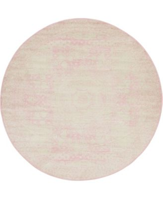 Mobley Mob2 Pink 8' x 8' Round Area Rug