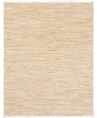 Jari Striped Jar1 Tan 8' x 10' Area Rug