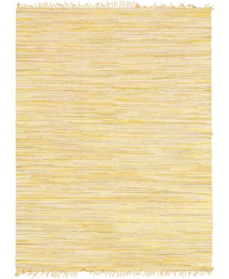 Jari Striped Jar1 Yellow 9' x 12' Area Rug