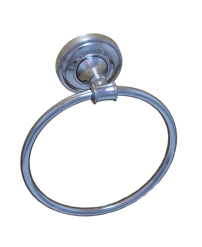 Arista Bath Products - Edgerton Towel Ring CH