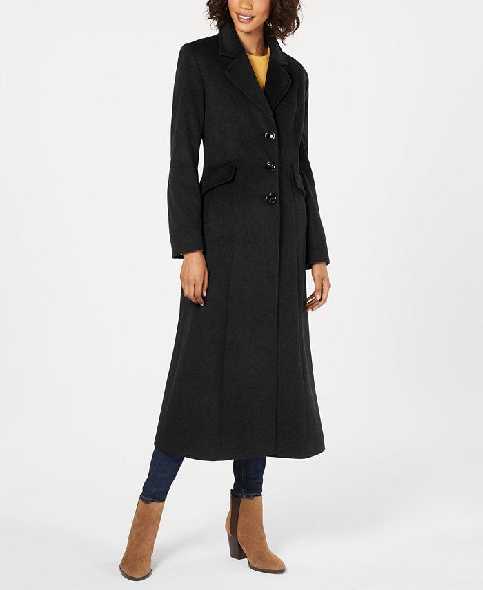 Forecaster - Notched-Collar Maxi Walker Coat