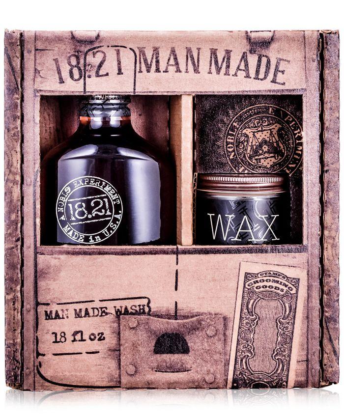 18.21 Man Made - 2-Pc. Wash & Wax Gift Set