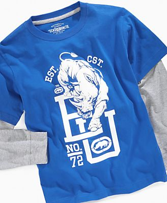 Ecko Kids T-Shirt, Boys Lil Flocker Slider Tees