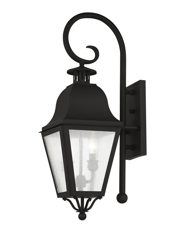 Livex - Amwell 2-Light Outdoor Wall Lantern