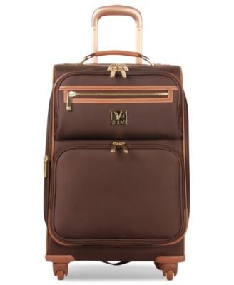 "CLOSEOUT! Diane von Furstenberg Private Jet II 20"" Carry On Expandable Spinner Suitcase"