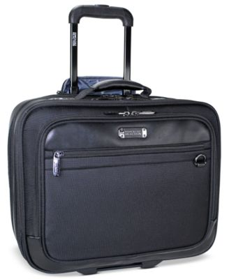 Kenneth Cole Reaction Rolling Triple Gusset Overnighter Laptop Business Case