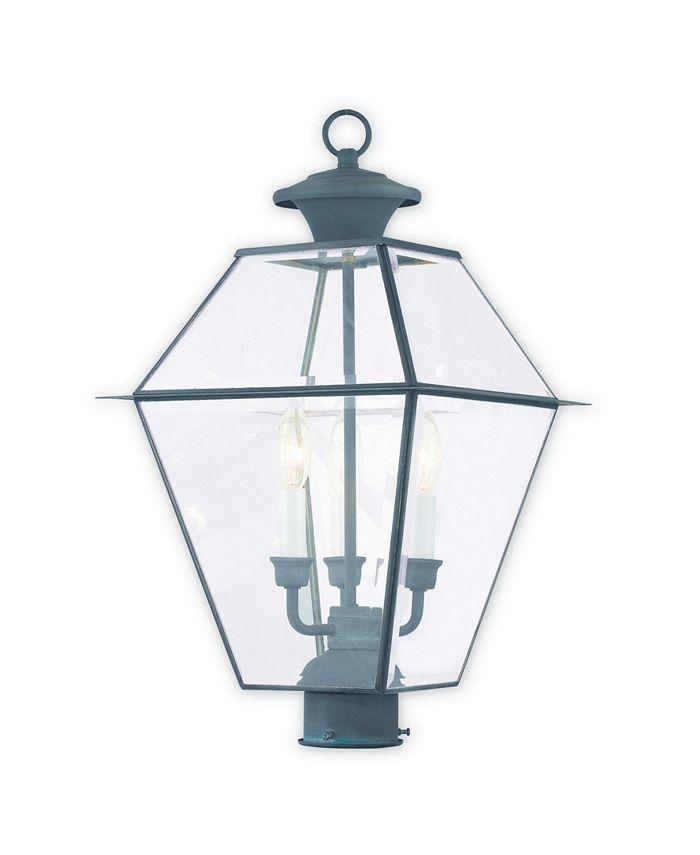 Livex - Westover 3-Light Outdoor Post Lantern