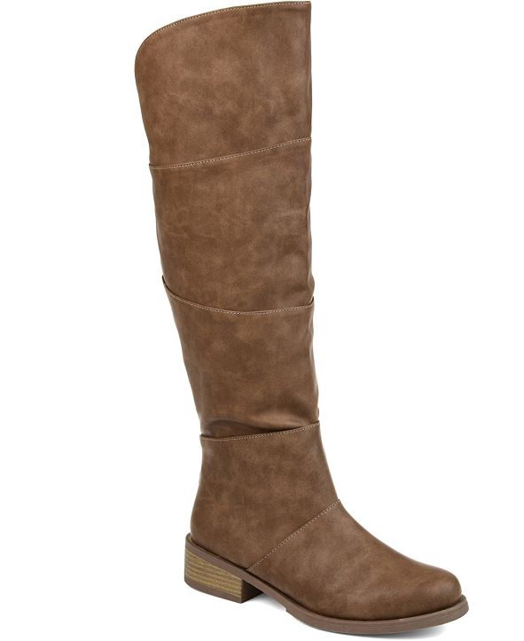 Journee Collection Women's Comfort Extra Wide Calf Vanesa Boot