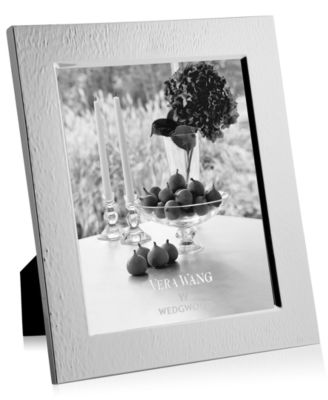 """Vera Wang Wedgwood Hammered 8"""" x 10"""" Picture Frame"""
