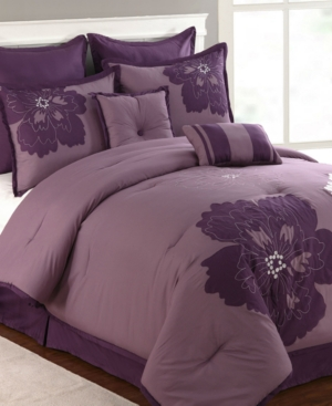 Fatima 8 Piece King Comforter Set Bedding