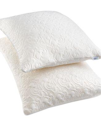 tempur pedic comfort foam queen pillow. Black Bedroom Furniture Sets. Home Design Ideas