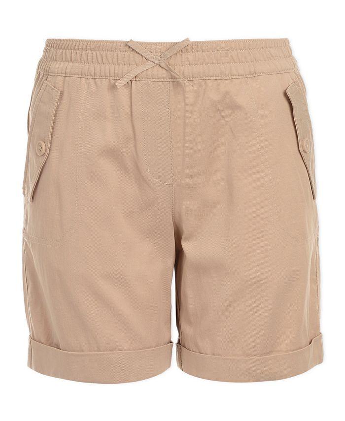 Nautica - Little Girls Pull-On Cuffed Shorts