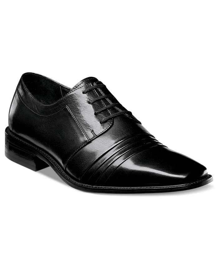 Stacy Adams - Shoes, Raynor Plain Toe Lace Up Shoes