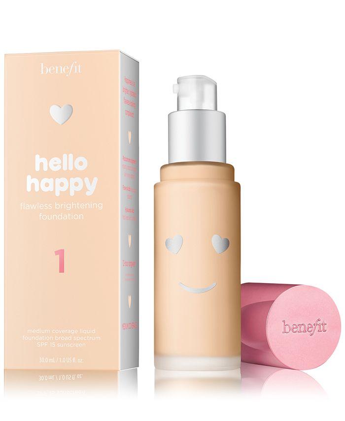 Benefit Cosmetics - Hello Happy Flawless Brightening Foundation