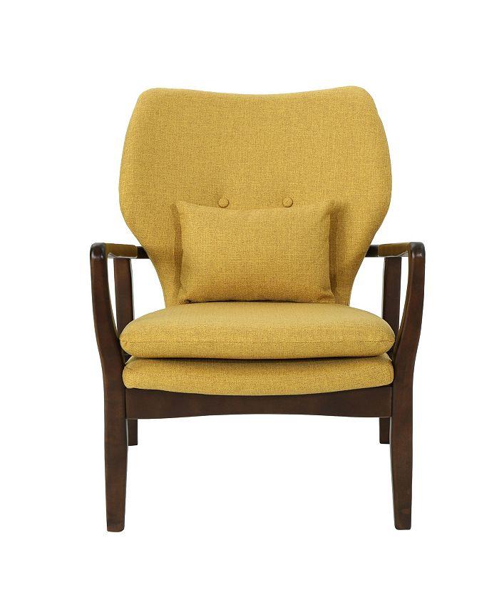 Noble House - Haddie Club Chair, Quick Ship