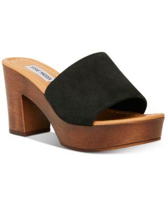 Fran Wooden Platform Sandals