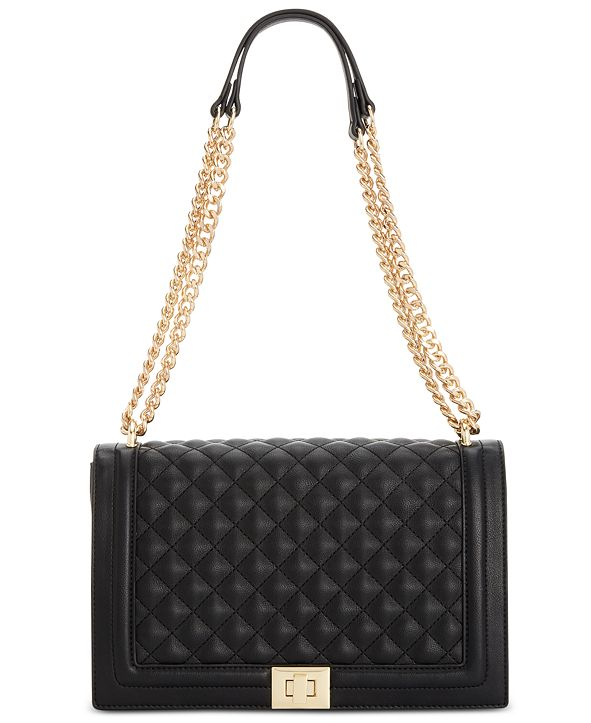 INC International Concepts INC Ajae Quilted Flap Crossbody, Created for Macy's