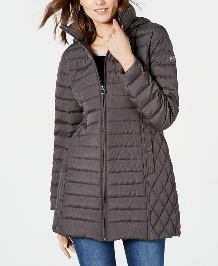 Michael Kors - Hooded Packable Puffer Coat