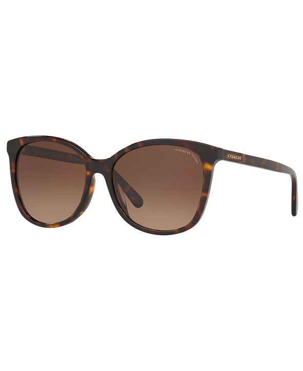 COACH Polarized Sunglasses, HC8271U 57 L1101