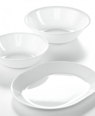 Corelle White 3-Piece Completer Set