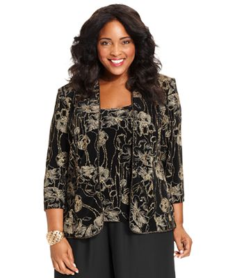 f8a366745c6 Shop the Latest Plus Size Jackets for Women Online at Macys.com. FREE  SHIPPING AVAILABLE! Plus Size Evening Wear Tops ...