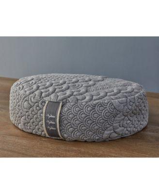 Crystal Cove Buckwheat Filled Meditation Pillow