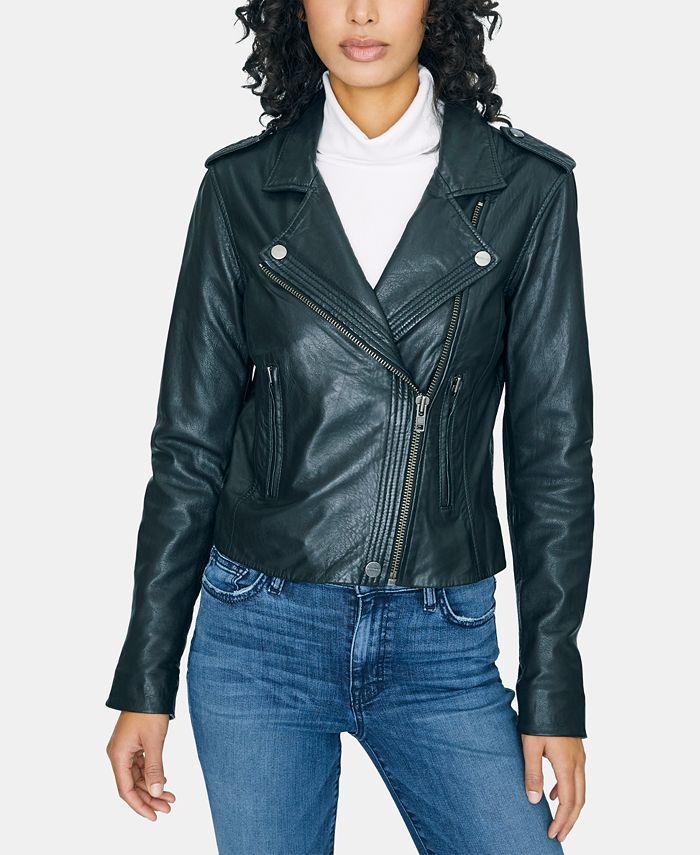 Sanctuary - Leather Moto Jacket