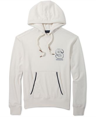 Sean John Hoodie, The SJ Hooded Pullover - Hoodies & Fleece - Men