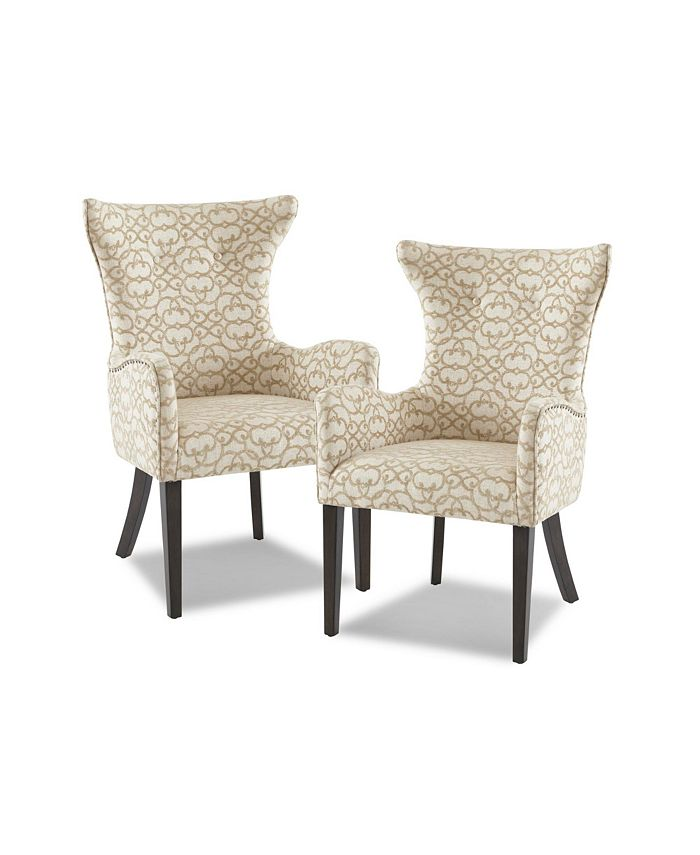 Furniture - Angelica Arm Dining Chair Set of 2