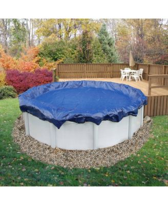 Sports Arcticplex Above-Ground 18' X 40' Oval Winter Cover