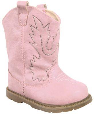 Baby Deer Baby Girl Western Boot Round