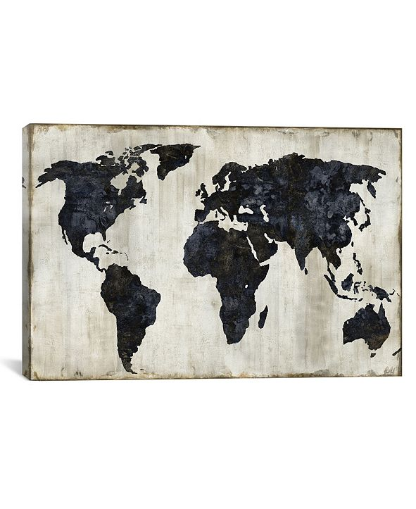 "iCanvas The World Ii by Russell Brennan Gallery-Wrapped Canvas Print - 26"" x 40"" x 0.75"""